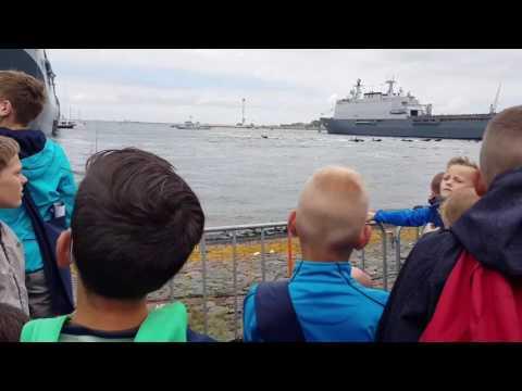 Marine dagen 24 juni 2017 demonstratie