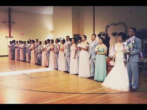 Chou & Pang Bridal Party Group Dance!