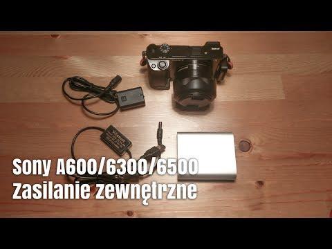 Zewnętrzne Zasilanie USB Dla Sony A6000, A6300, A6500 I A7