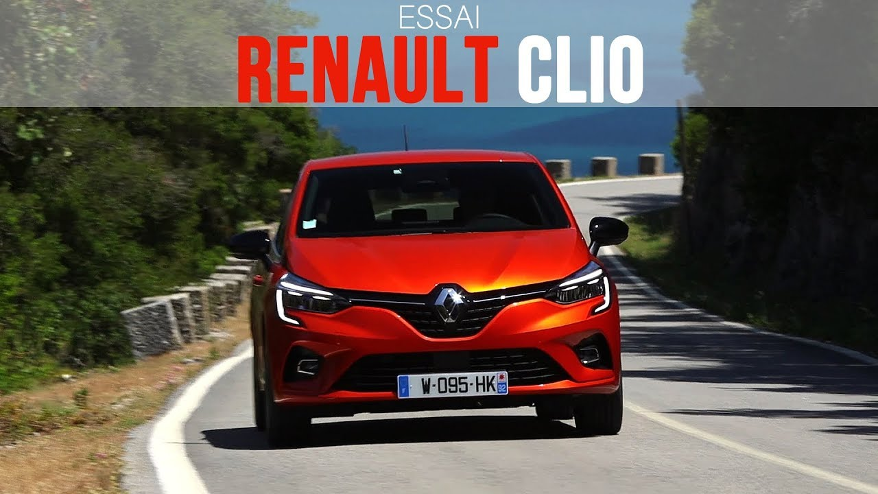Essai Renault Clio 1 0 Tce 100 Intens 2019 Youtube