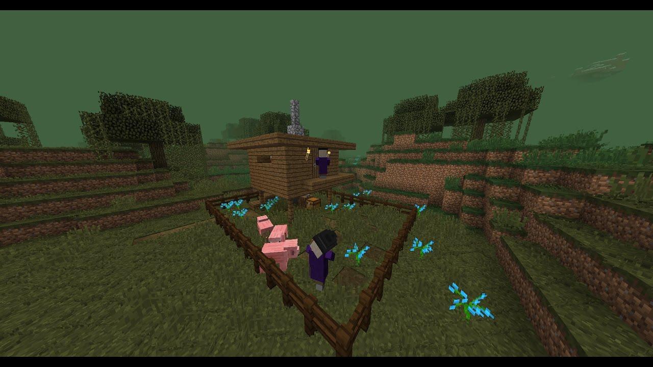как найти дом ведьмы в майнкрафте 1.12.1 #7