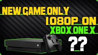 New Game Only Reaches 1080p On The Xbox One X, That's A Bit Disappointing!