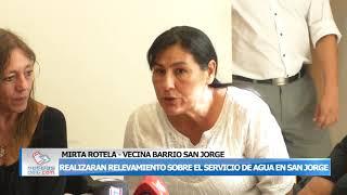 03-12-19 ROTELA   REALIZARAN RELEVAMIENTO SOBRE EL SERVICIO DE AGUA EN BARRIO SAN JORGE