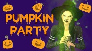 Pumpkin Party - Sims 2 Halloween