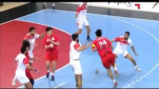ハンドボール アジア選手権 日本vsシリア 前半