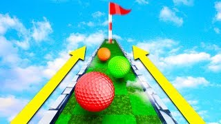 WORLD'S FIRST EXTENDING COURSE! (Golf It)