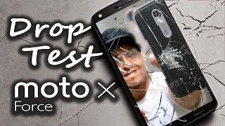 Drop Test de 11 metros de altura do Motorola Moto X Force! Veja como funciona a tela ShatterShield