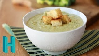 Broccoli Cheese Soup Recipe (naturally gluten-free) Hilah Cooking