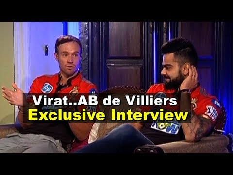 EXCLUSIVE INTERVIEW: Virat Kohli & AB De Villiers Together For The First Time | Sports Tak