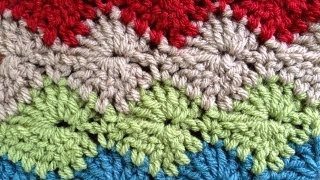 Catherine Wheel Crochet Stitch Part 1 of 2 PA656