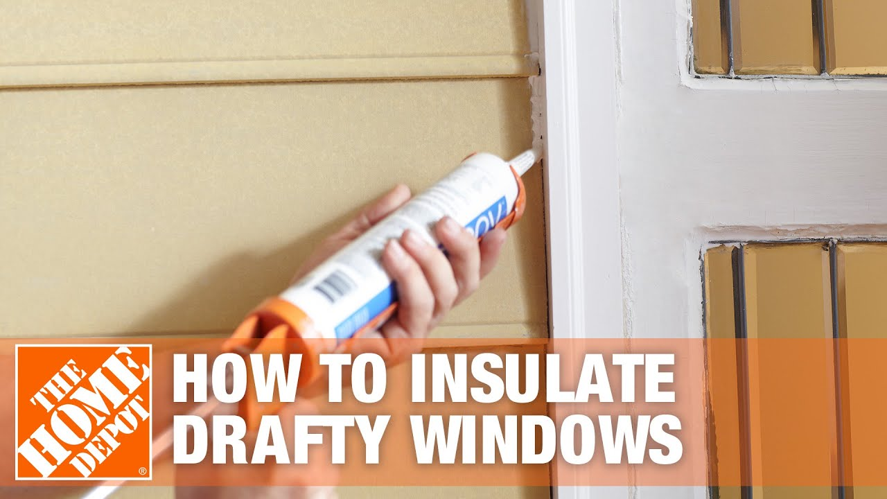 How To Insulate Windows Window Insulation Kit The Home Depot - Window Plastic Insulation