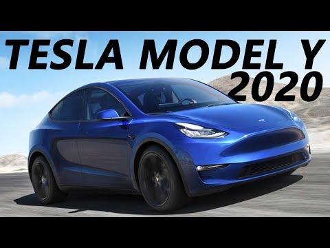 видео: Обзор Tesla Model Y 2020.  + История компании TESLA 2008 - 2019