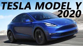 Обзор Tesla Model Y 2020.  + История компании TESLA 2008 - 2019