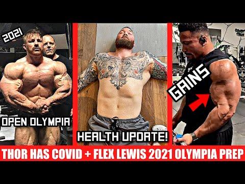 Flex Lewis Begins Prep for 2021 Olympia + Hafthor's Big Health Update + Patrick Moore = Moore Gains