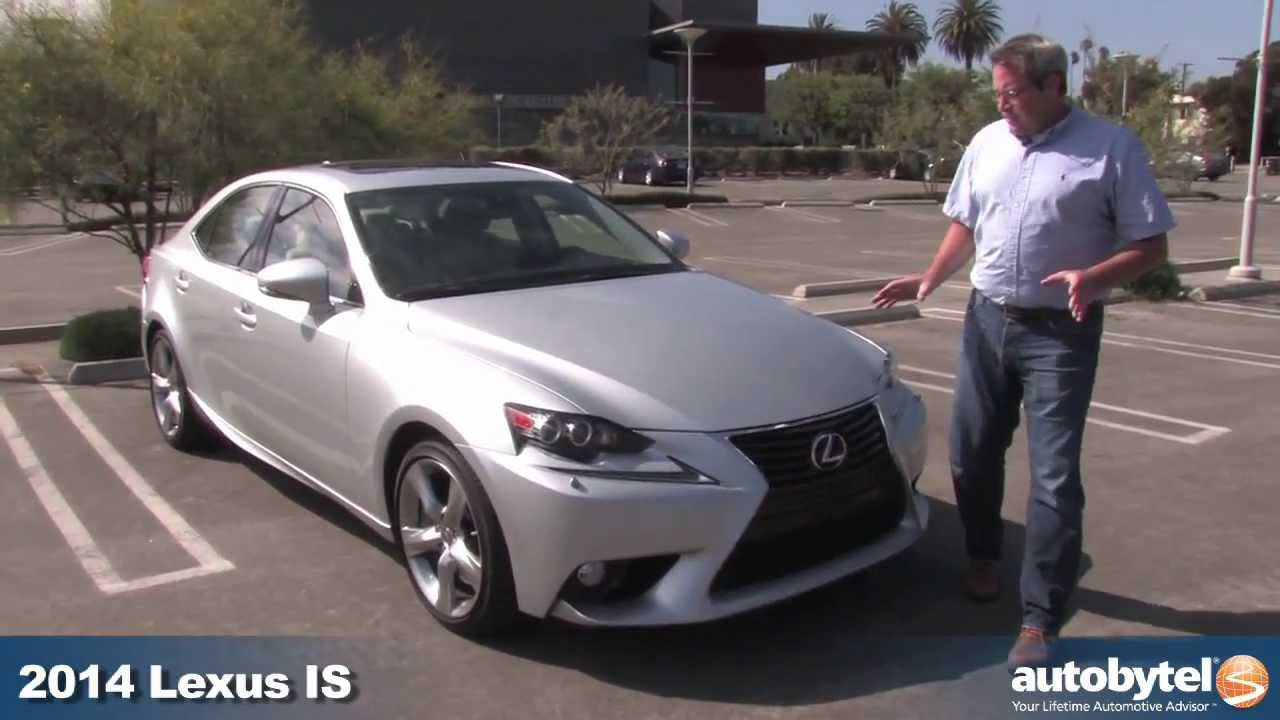 2014 Lexus IS 350 Test Drive & Compact Luxury Sports Sedan Car Video