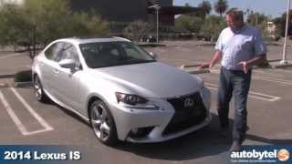 2014 Lexus IS 350 Test Drive & Compact Luxury Sports Sedan Car Video Review