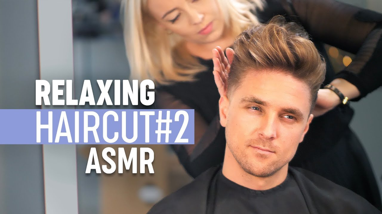 Relaxing Scissor Haircut - Stress Relief - ASMR Sound Experience