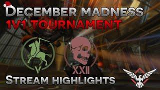 Rocket League Stream Highlights - December Madness 1v1 Tournament