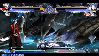 Slice of Gaming - BlazBlue: Continuum Shift II (PSP) Ragna Arcade Run (Full)