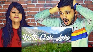 Indian Reaction On RATTI GALI LAKE Drone Video The Lake of Dreams Neelam Valley