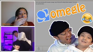 Throwing it BACK on OMEGLE!! **HILARIOUS, ft. lil Maiko**