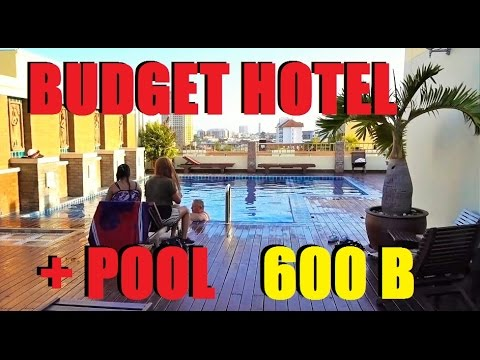 Pattaya Budget Hotel with Swimming pool under 600 baht D-apartment soi Buakhao.