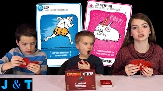 Playing Exploding Kittens / Jake and Ty