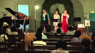 2011.7.27女神聖歌隊時計台コンサートの一曲です。