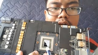 || Tutorial || Cara Mengganti Thermal Paste Pada Graphic Card/VGA Card - Indonesia