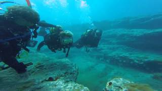 Jean and Doug Diving in Gran Canaria with Blue Water Diving July 2015