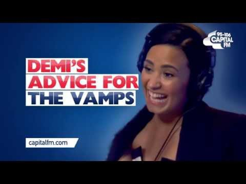 Demi Lovato Gives The Vamps Some Relationship Advice!