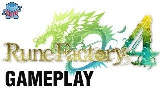 Rune Factory 4 Official Gameplay