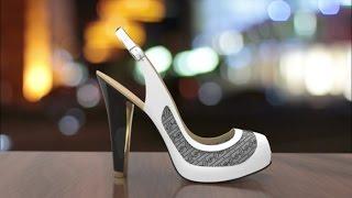 Smart shoes change color on cue