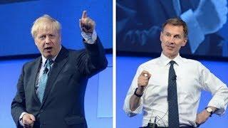Boris Johnson vs Jeremy Hunt: Tory leadership candidates quizzed by Telegraph