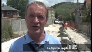 ulica sarajevska igmanska i nikole tesle asfaltiranje