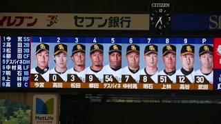 2017年8月6日 埼玉西武ライオンズvs福岡ソフトバンクホークス メットラ...