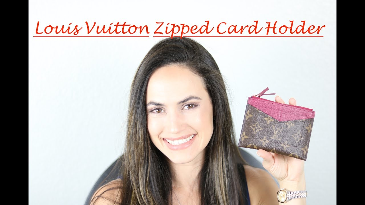 44097805 LOUIS VUITTON - ZIPPED CARD HOLDER Review + WIMB