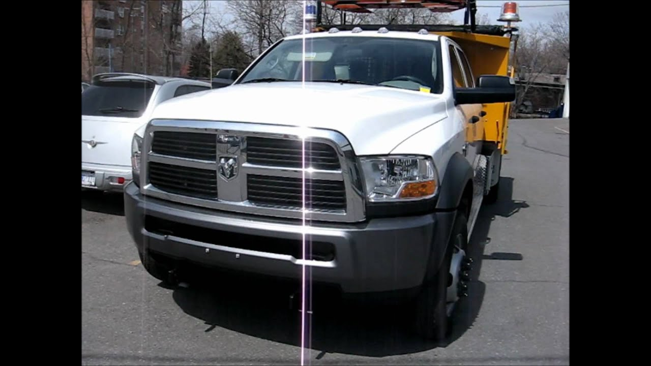 2011 Dodge Ram 5500 dump truck - YouTube