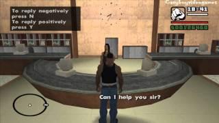 GTA San Andreas - PC - Mission #75 - Architectural Espionage (HD)