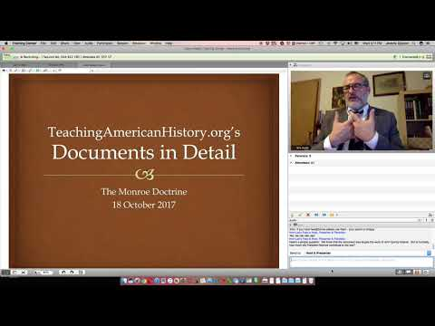 Documents in Detail: Monroe Doctrine