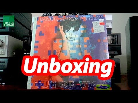Unboxing Tug Of War Vinyl - Paul McCartney Archive Collection