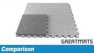 Comparing Modular Carpet Tiles - Foam vs Plastic Based Carpet Squares