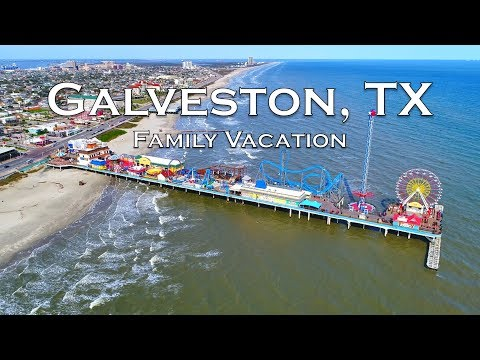 GALVESTON ISLAND, TEXAS | Family Vacation Travel Video | Sony A6500