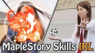 Kinesis Parody | MapleStory Skills IRL
