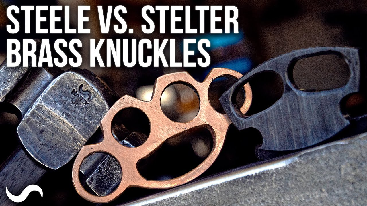 MAKING BRASS KNUCKLES!!! STEELE Vs. STELTER