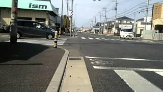 【自転車車載】埼玉県春日部市小渕交差点〜杉戸町すきすきすぎーと36(2015/04/09)
