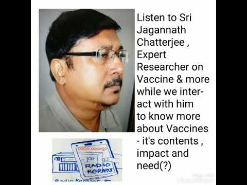 Vaccine or No Vaccine ! Listen to the opinion shared by Sri Jagannath  Chatterjee with a click here - YouTube