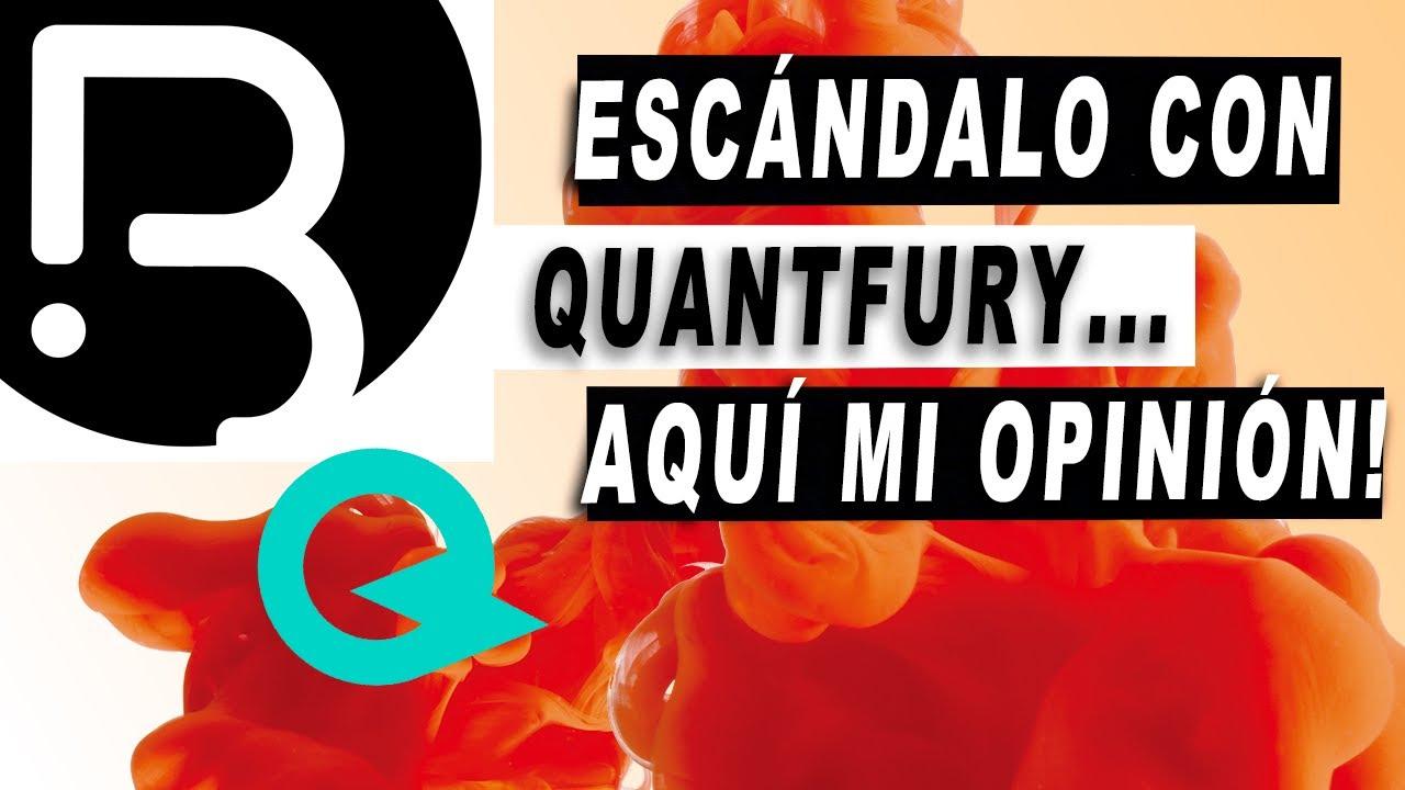 DIOS! Escándalo con Quantfury y Trading Latino... Mi humilde opinión al respecto. Y análisis de BTC!