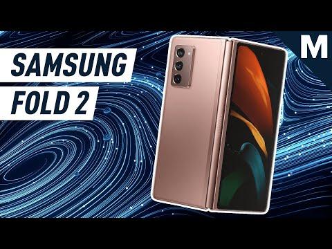 Samsung's New Foldable Galaxy Phone Revealed   Mashable