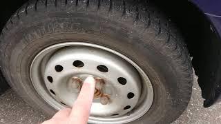 ムーヴ スタッドレスタイヤに交換しました!ご紹介の15インチアルミ付